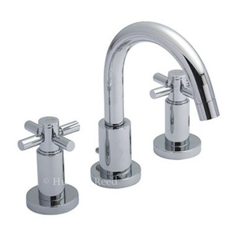 Hudson Reed Tec Crosshead 3 Tap Hole Basin Mixer