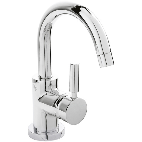 Hudson Reed Tec Single Lever Side Action Basin Mixer - PN386