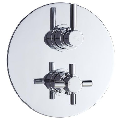 Hudson Reed Tec Twin Concealed Mixer Shower Valve With Diverter