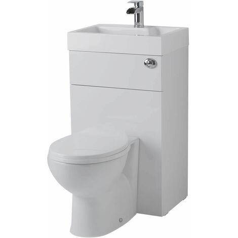 Hudson Reed Toilette Wc Avec Lave Main Intégré Design Moderne
