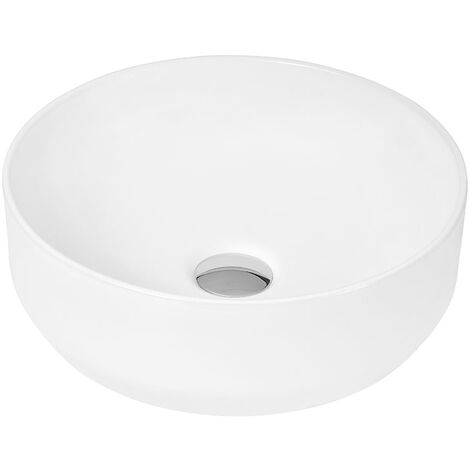 Hudson Reed Vessel Sit-On Countertop Basin 350mm Wide - 0 Tap Hole