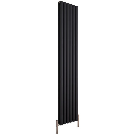 Hudson Reed Vitality Air – Radiateur Design Vertical – Anthracite – 180 x 23cm Double Rang