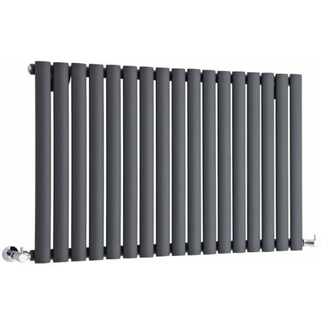 Hudson Reed Vitality – Radiateur Design Horizontal – Anthracite – 63,5 x 100cm