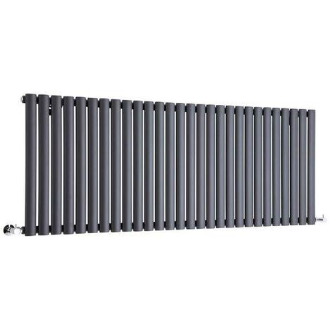 Hudson Reed Vitality – Radiateur Design Horizontal – Anthracite – 63,5 x 164,7cm