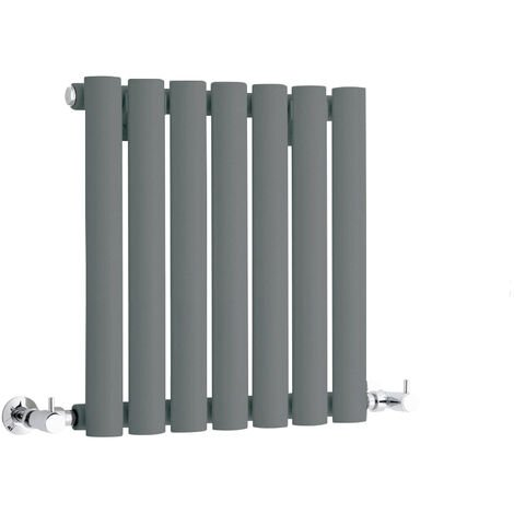 Hudson Reed Vitality – Radiateur Design Horizontal Compact – Anthracite – 40 x 41,5cm