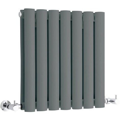Hudson Reed Vitality – Radiateur Design Horizontal Compact – Anthracite – 40 x 41,5cm Double Rang