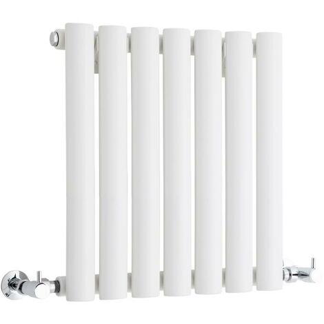 Hudson Reed Vitality – Radiateur Design Horizontal Compact – Blanc – 40 x 41,5cm
