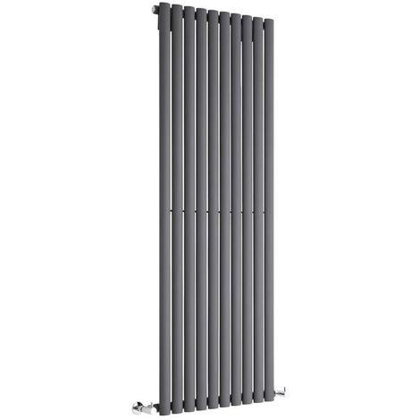 Hudson Reed Vitality – Radiateur Design Vertical – Anthracite – 160 x 59cm