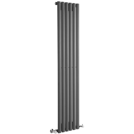 Hudson Reed Vitality – Radiateur Design Vertical – Anthracite – 178 x 35,4cm