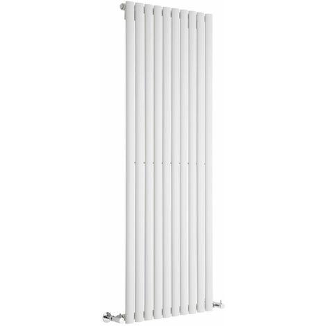 Hudson Reed Vitality – Radiateur Design Vertical – Blanc – 160 x 59cm