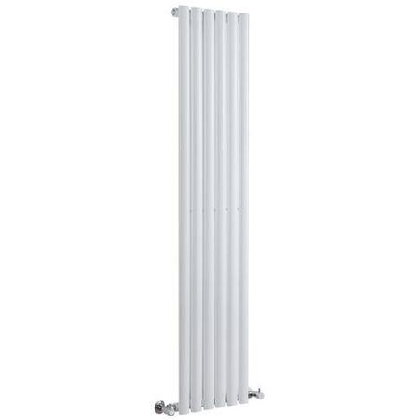 Hudson Reed Vitality – Radiateur Design Vertical – Blanc – 178 x 35,4cm