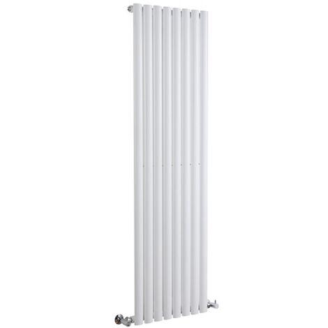 Hudson Reed Vitality – Radiateur Design Vertical – Blanc – 178 x 47,2cm