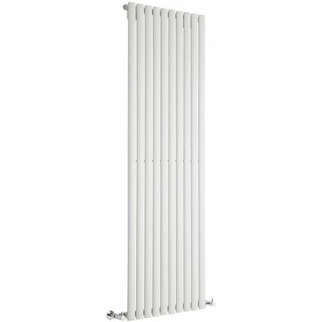 Hudson Reed Vitality – Radiateur Design Vertical – Blanc – 178 x 59cm
