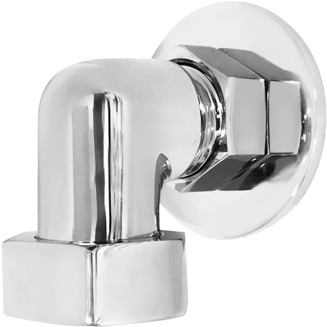 Hudson Reed VQE001 Accessories | Back To Wall Shower Elbow, Chrome