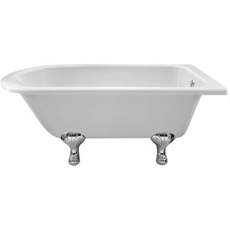 Hudson Reed Winterburn 1500mm x 750mm Freestanding Shower Bath with Corbel Leg Set - RLF1500T