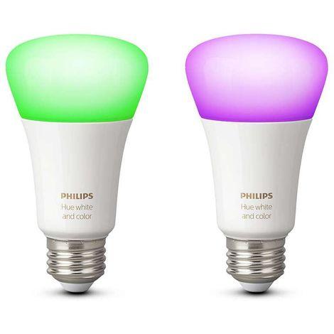 Hue white and color ambiance lampdina led, e27, 2 pezzi 72905200