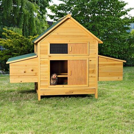 Hühnerhaus Hühnerstall Geflügelstall Hühnervoliere Freilaufgehege Kaninchenstall