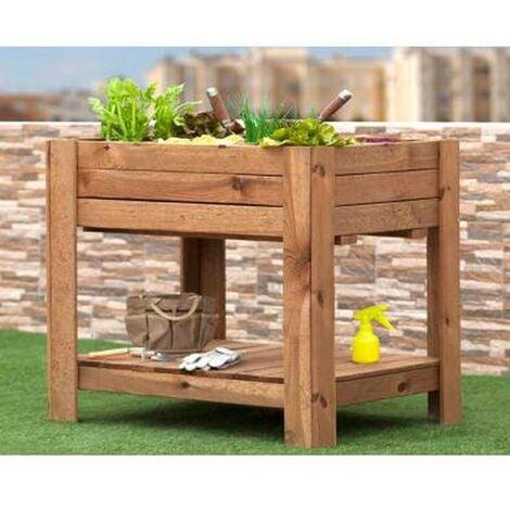 Huerto Eco > Huerto Urbano > Mesas de Cultivo > Mesas de madera