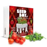 Huerto Urbano Kit 25X25X8Cm Tomate Cherry Seedbox Mesa Pimie