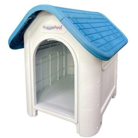 HugglePets Kennel - 403 - Blue Roof
