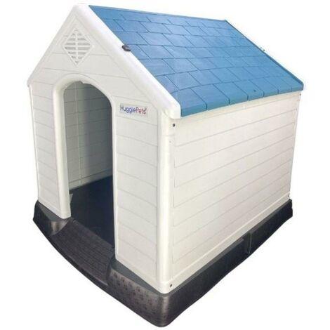 HugglePets Kennel - 413 - Blue Roof