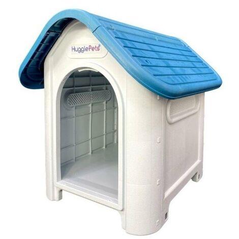 HugglePets Kennel - 419 - Blue Roof