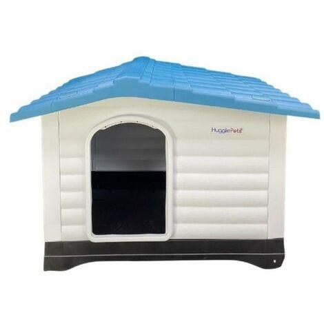 HugglePets Kennel - 424 - Blue Roof