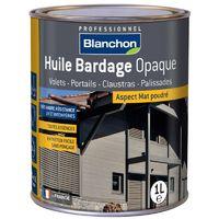Huile Bardage Teintée Blanchon 1L - Plusieurs modèles disponibles