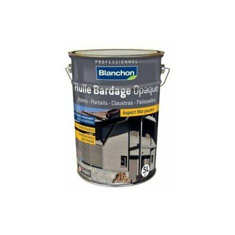 Huile Bardage Teintée Blanchon 5L - Plusieurs modèles disponibles