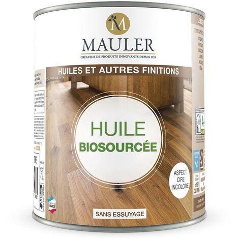 Huile biosourcée Mauler pour bois, parquet, escalier... Contient plus de 82% de matières biosourcées
