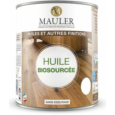 Huile biosourcée pour bois, parquet, escalier... Mauler 0,25L, 1L et 2,5L
