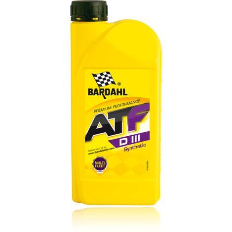 Huile boite de vitesse automatique - ATF Synthese Dexron 3 - 1L - BARDAHL