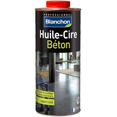 Huile-Cire Béton Blanchon 1L