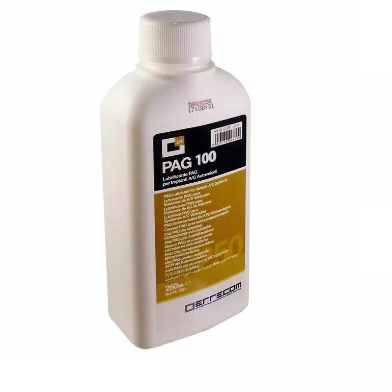 Huile climatisation LR-PAG 100 pour HFO 1234yf - flacon de 250ml