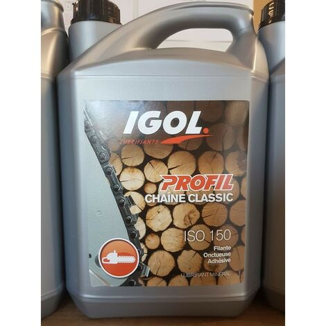 Huile de chaine Igol Classic ISO 150 - 5 Litres