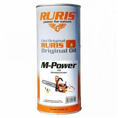 Huile de chaine tronçonneuse M-Power - Orange