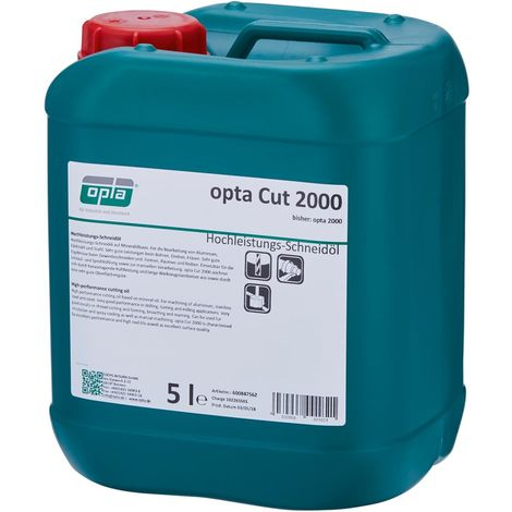 Huile de coupe haute performance CUT 2000 5l OPTA