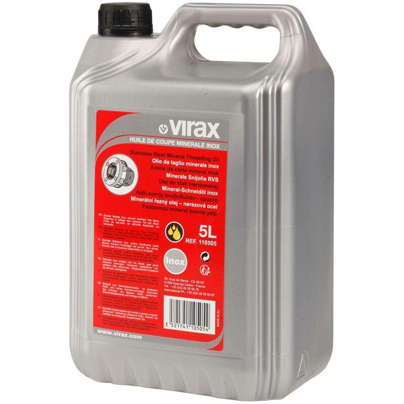 Huile de coupe minérale 5 litres | 110105 - Virax