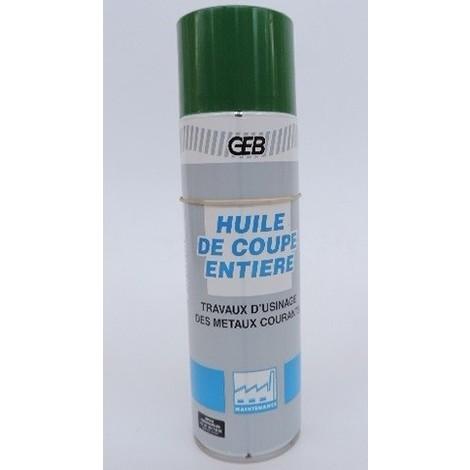 Huile de coupe soluble polyvalente aérosol de 650ml pour travaux d'usinage et de lubrification des métaux GEB 651100
