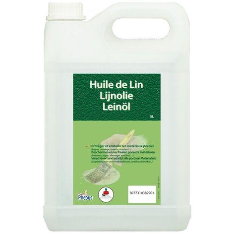 Huile de lin 5 litres - Phebus
