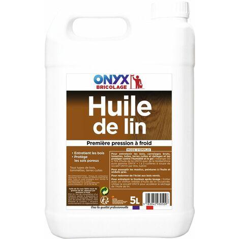 "main image of ""Huile de lin bidon 5 litres - ONYX"""