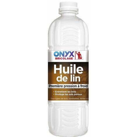 Huile de lin bouteille 1 l
