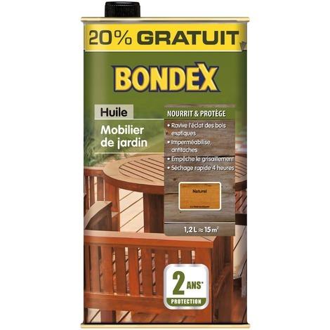 Huile de teck rénovatrice Bondex 1L