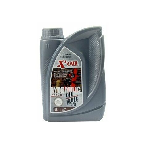 Huile hydraulique 1L X'OIL HV ISO 46 - HLP46 - ZS46