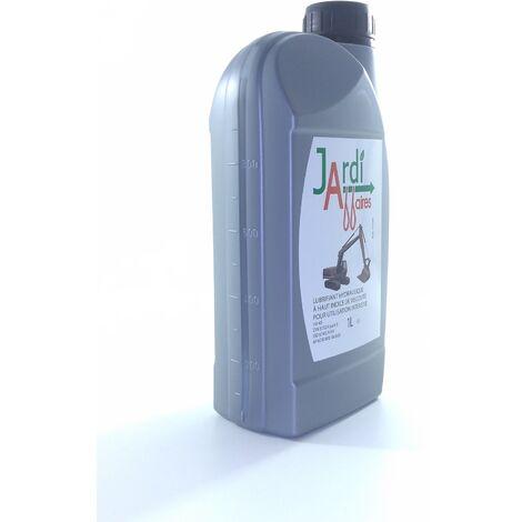 Huile hydraulique Iso HV46 professionnelle Jardiaffaires 1 litre