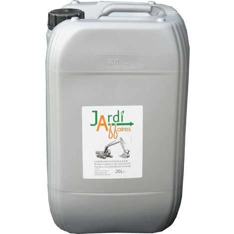 Huile hydraulique Iso HV46 professionnelle Jardiaffaires 20 litres