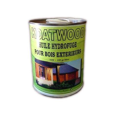 Huile hydrofuge bois exterieurs 5L Koatwood KOATCHIMIE