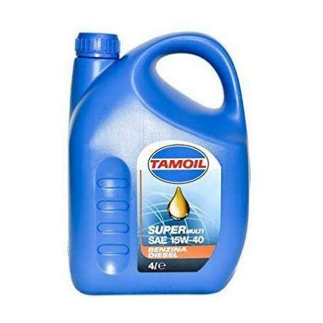 Huile lubrifiante lubex 15w40 tamoil multifuel 4l 9565