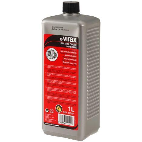 Huile minérale de coupe pour tube acier - 1 L - Virax