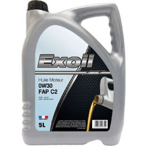 Huile moteur EXOIL 0W30 spec. PSA [B71 2312] 5L